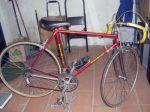 BERGAMASCHI op Italiaanse Racefietsen