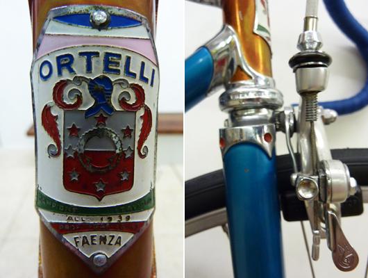 Ortelli op Italiaanse Racefietsen