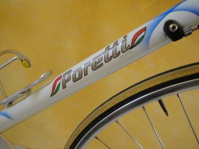 Poretti op Italiaanse Racefietsen