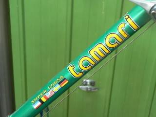 Tamari op Italiaanse Racefietsen