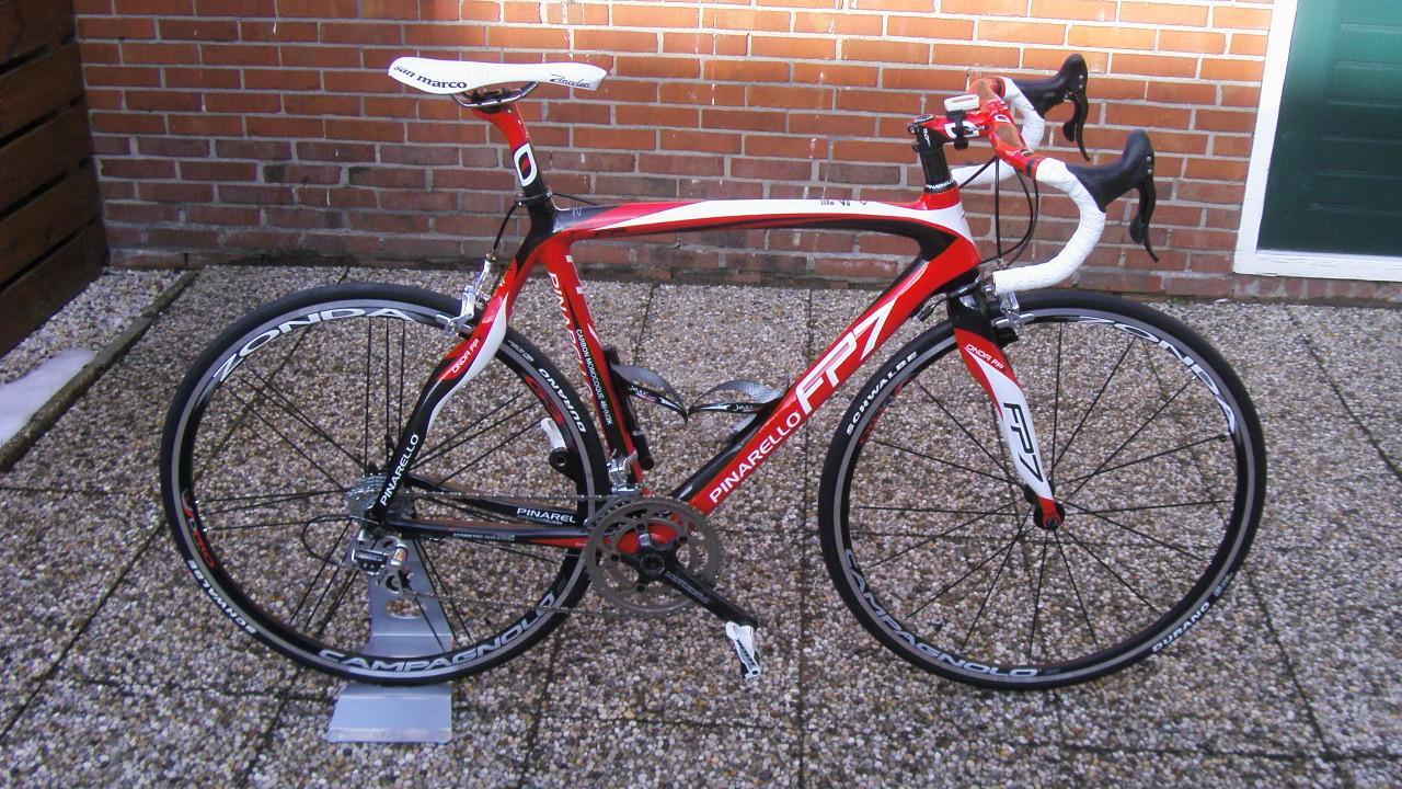 Pinarello van Jan Korthuis op Italiaanse Racefietsen