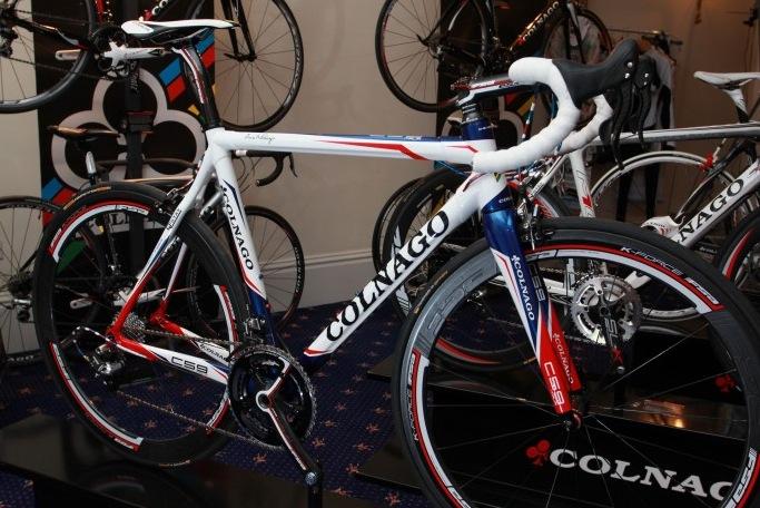 Colnago C59 Bastille Day op CORE 2011 op Italiaanse Racefietsen