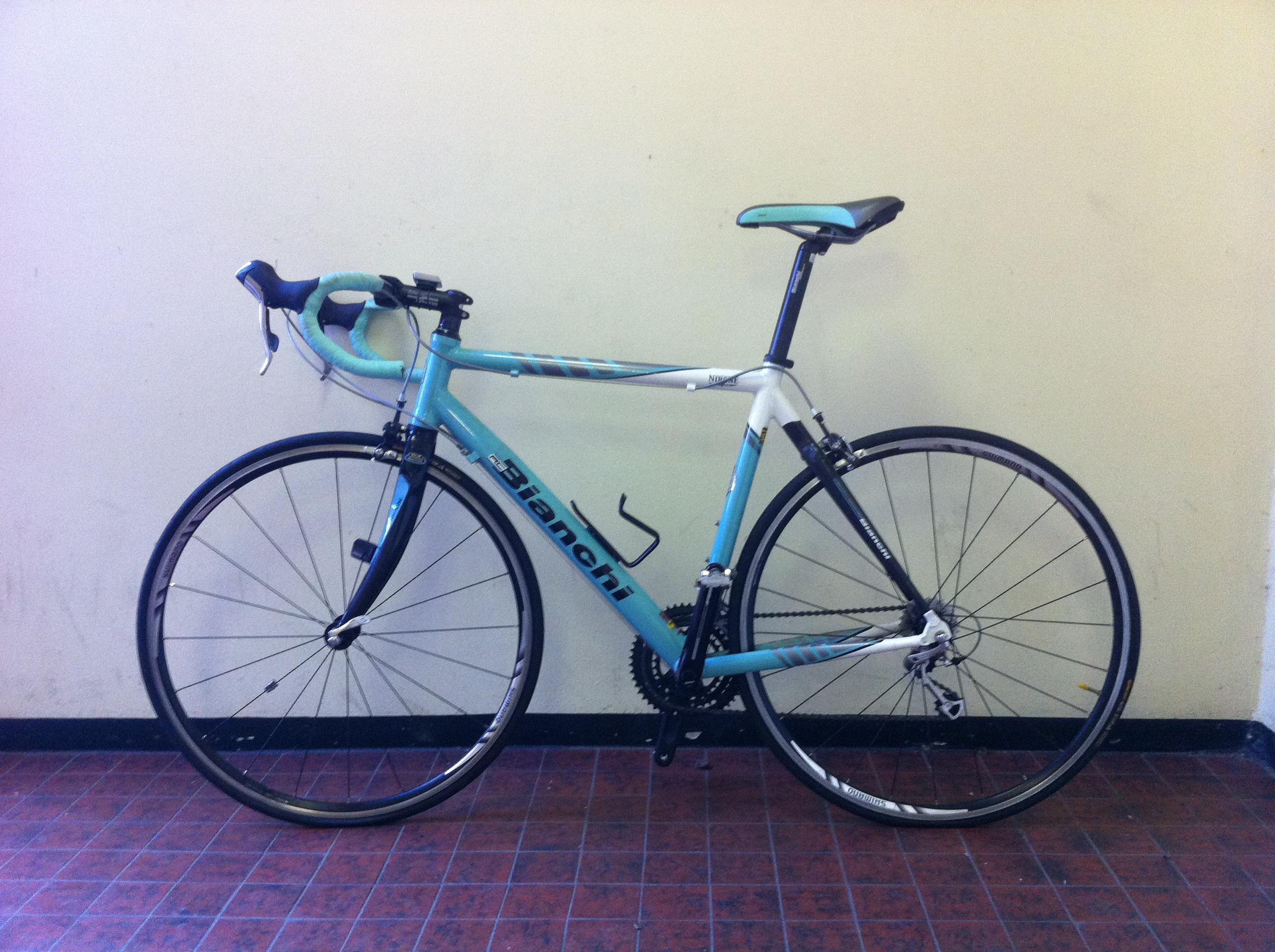 Bianchi van Ramon Kweekel te koop op Italiaanse Racefietsen