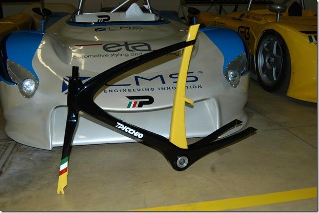 Picchio by Nicola Guida op Italiaanse Racefietsen