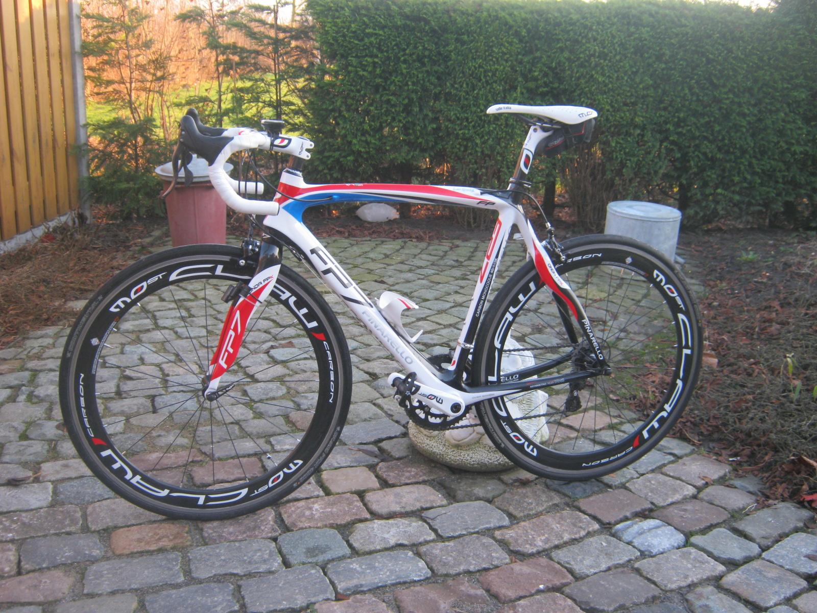 Pinarello van Leo Noordijk te koop op Italiaanse Racefietsen