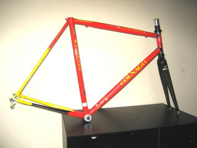 Colnago frame van Piet Keun te koop op Italiaanse Racefietsen